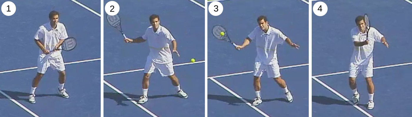 Beginner tips How to hit a forehand volley step by step