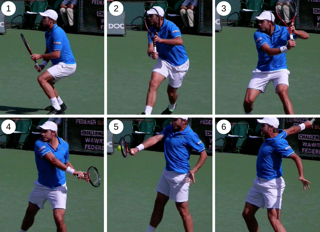 Beginner tips How to hit a one-handed backhand step by step