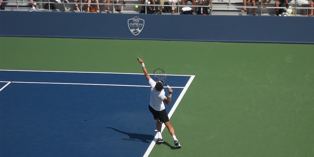 Tennis serve definition overview and rules